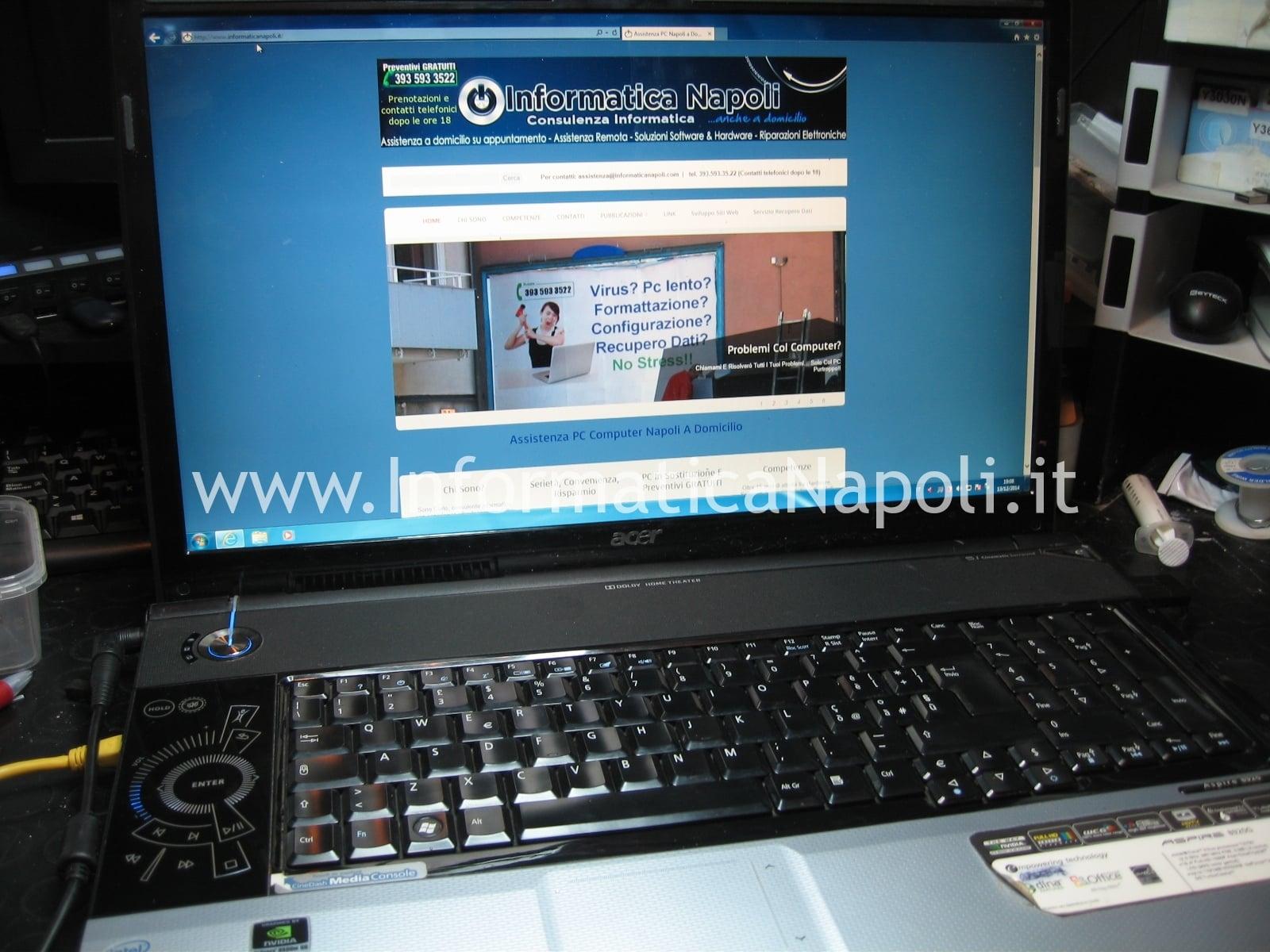 assistenza Acer 8920 riparazione
