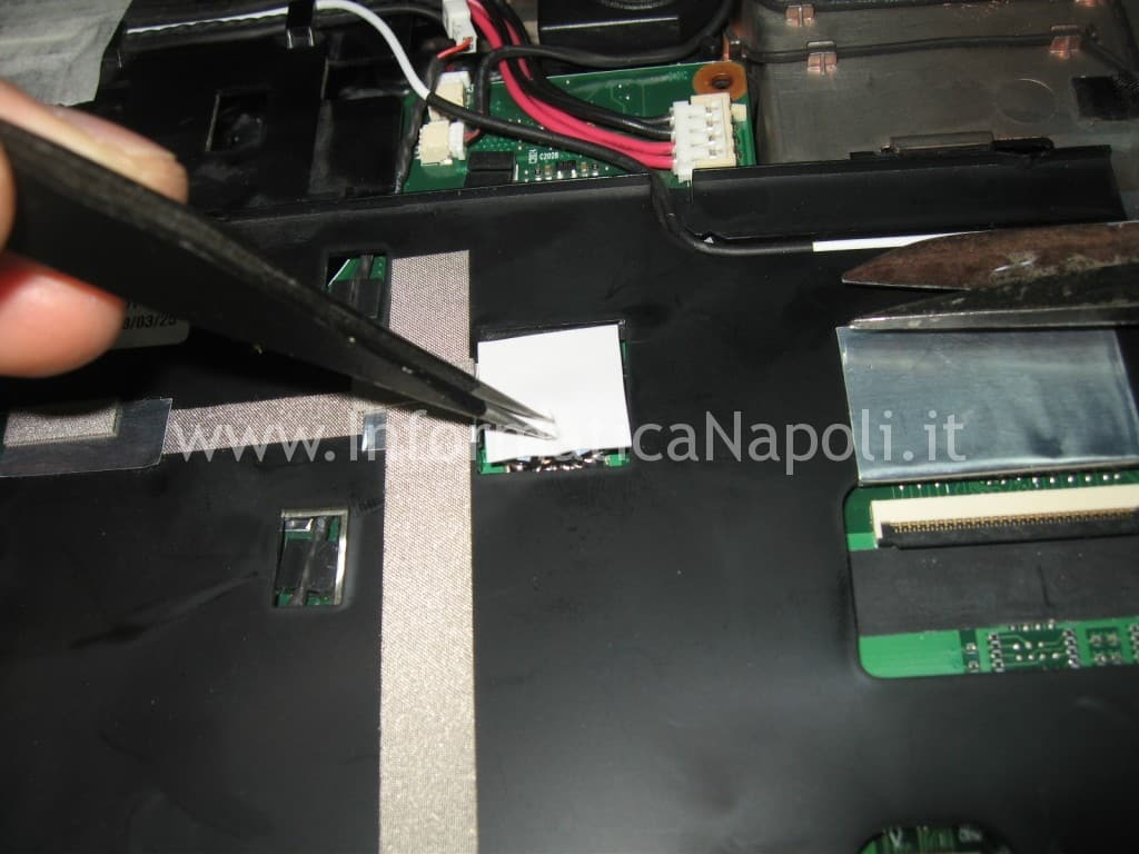 ripristino sostituzione nectokin Acer 8920