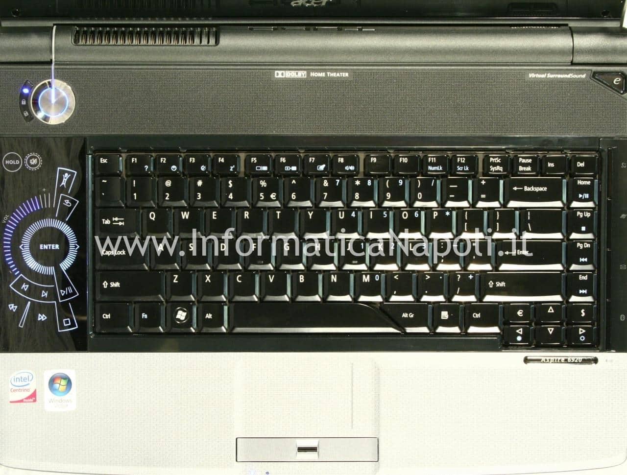 Acer 6920G si spegne