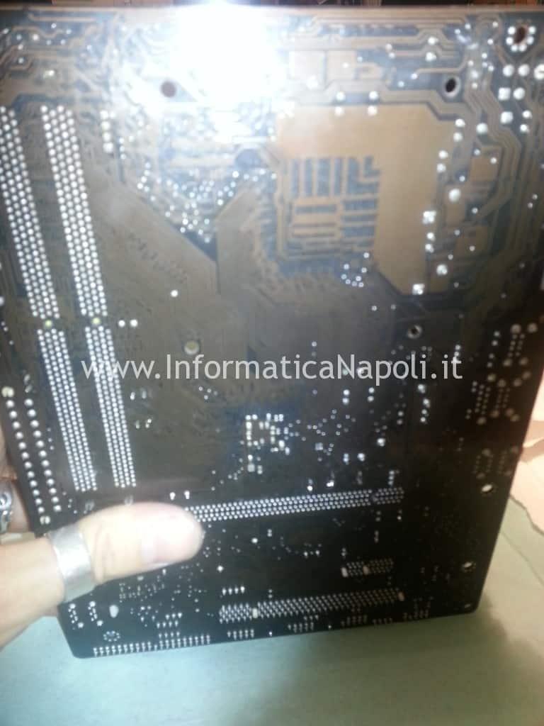 riparare scheda madre pc fisso desktop napoli