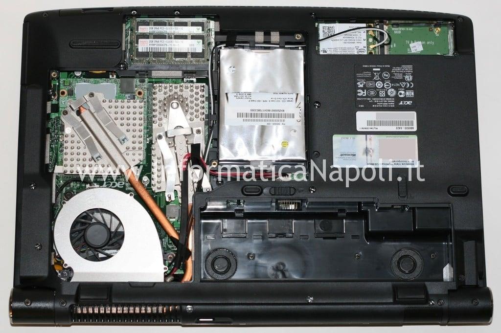 Acer 6920G si spegne improvvisamente