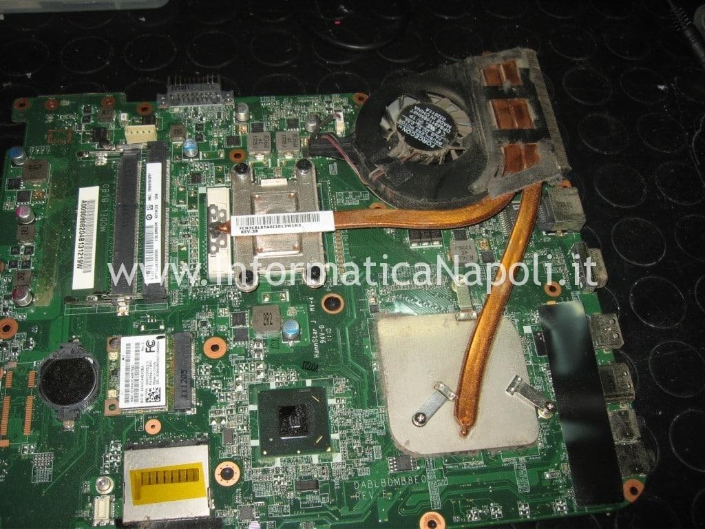 smontare dissipatore Toshiba Satellite L700 L755 PSK2YE napoli