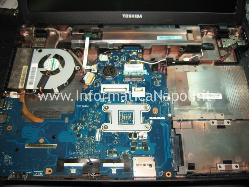 scheda madre Toshiba Satellite C660D PSC0UE napoli