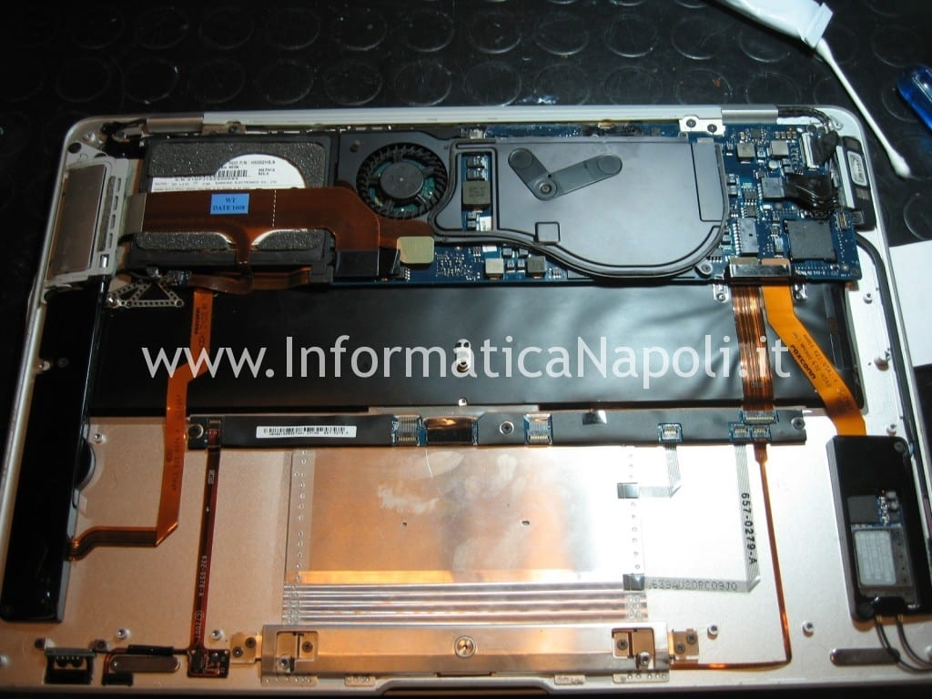reballing macbook air A1237 A1304 north bridge LE82GS965 napoli
