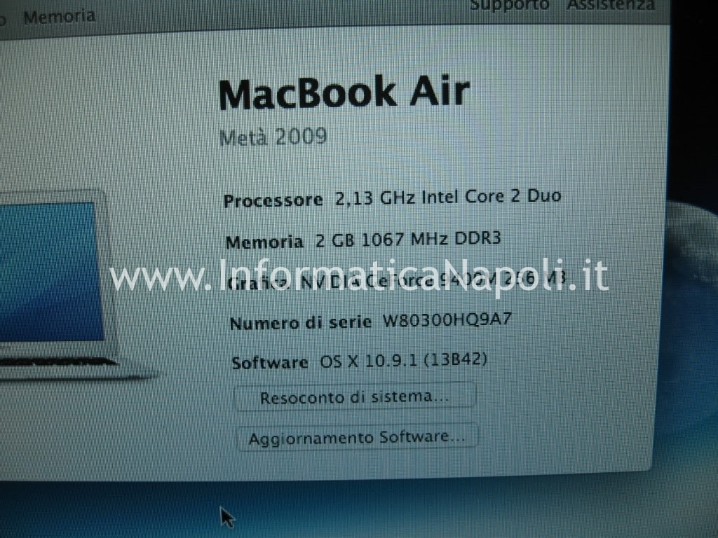 macbook air A1237 A1304 north bridge LE82GS965 metà 2009