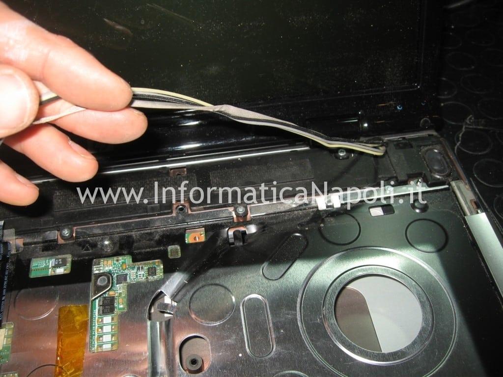 smontare display DV9000 DV9500 DV9695el