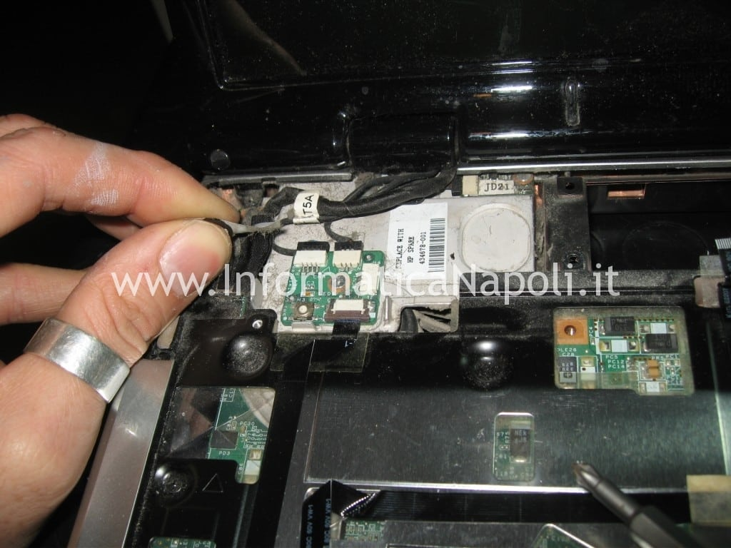 cavo flat video hp DV9000 DV9500 DV9695el