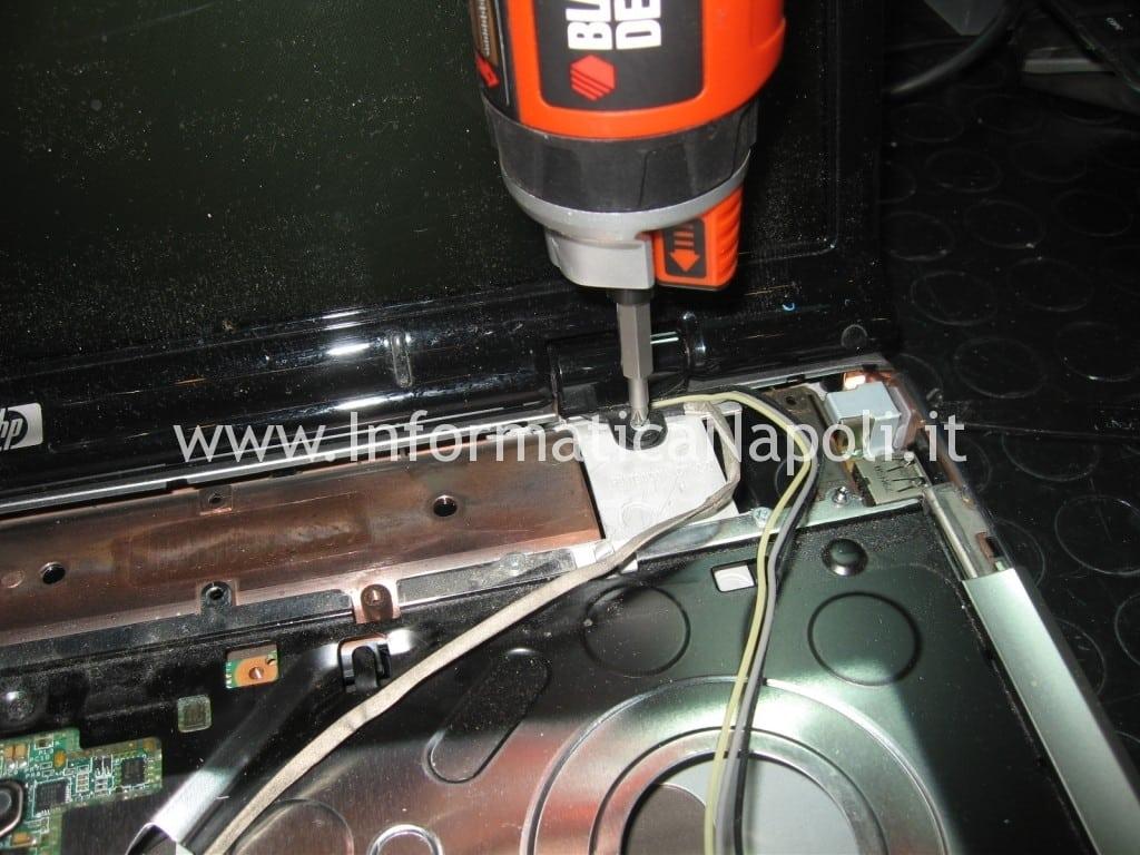 staccare schermo hp DV9000 DV9500 DV9695el