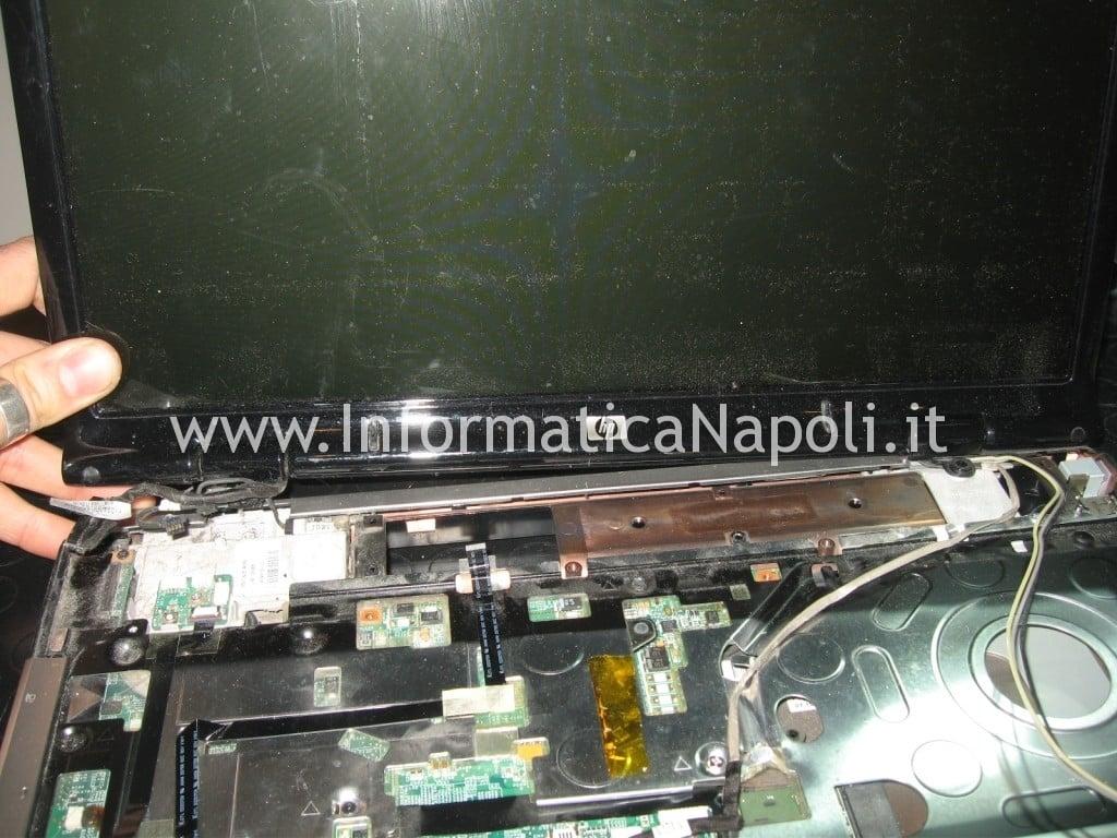 staccare schermo video hp DV9000 DV9500 DV9695el
