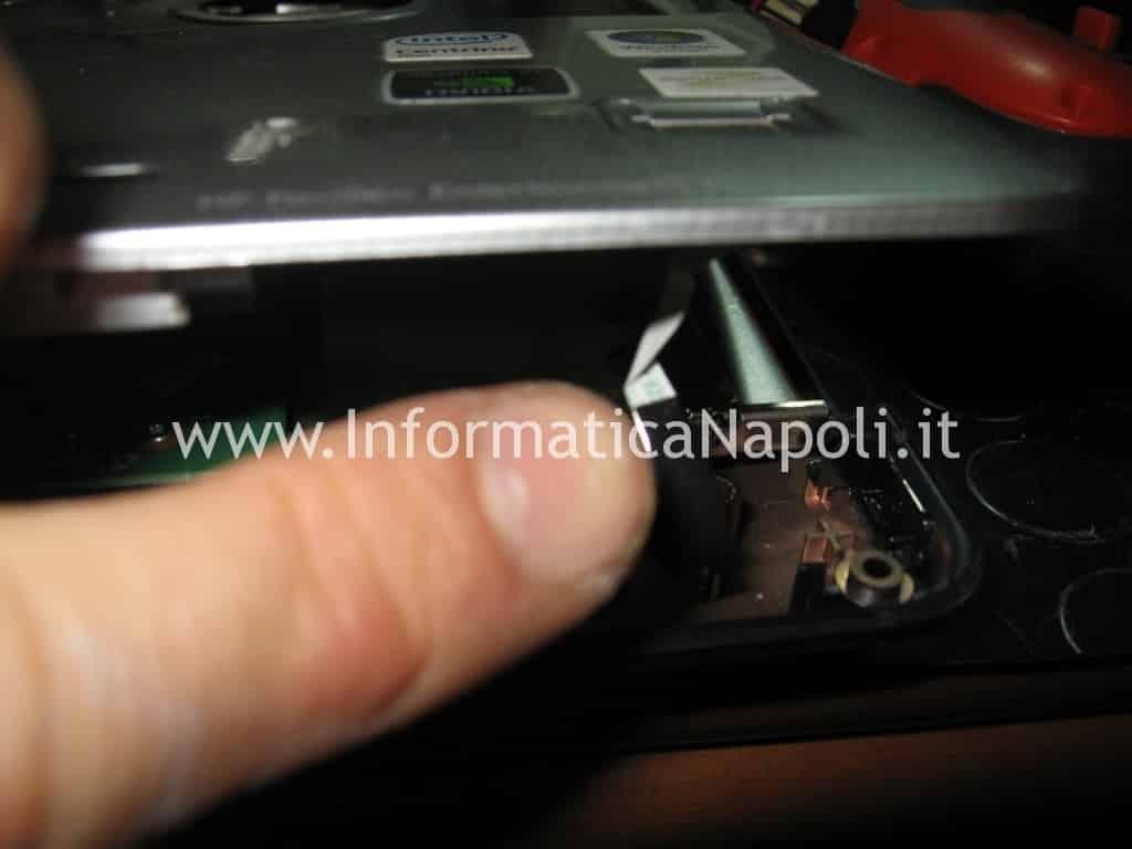 ripristinare hp DV9000 DV9500 DV9695el