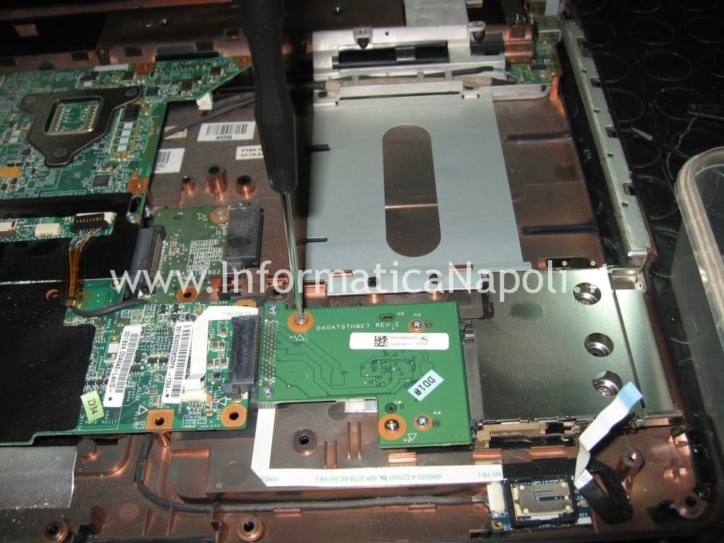 scheda madre danneggiata hp pavilion DV9000 DV9500 DV9695el