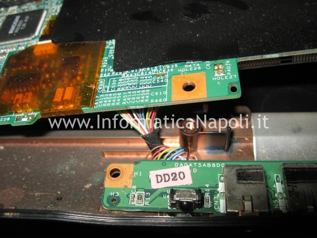 riparazione scheda video hp pavilion DV9000 DV9500 DV9695el