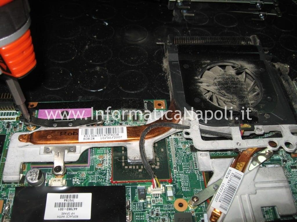 dissipatore hp pavilion DV9000 DV9500 DV9695el
