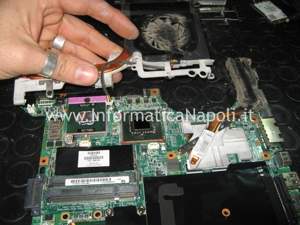 CPU GPU hp pavilion DV9000 DV9500 DV9695el