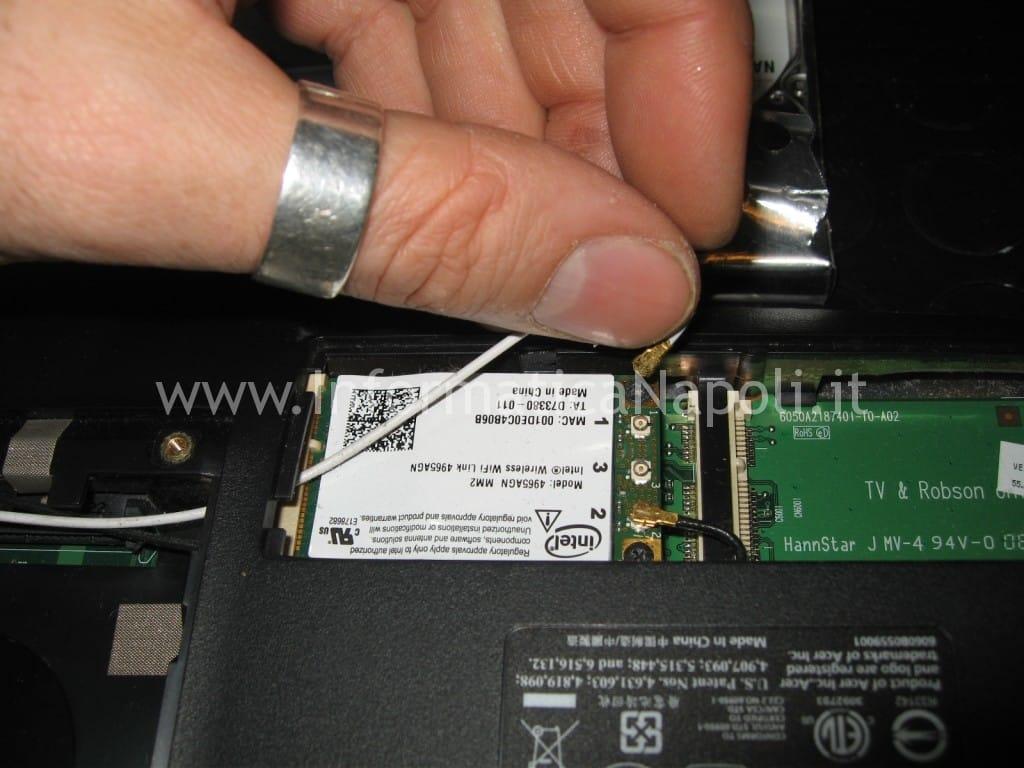 scheda rete WiFi acer 6935 LF2