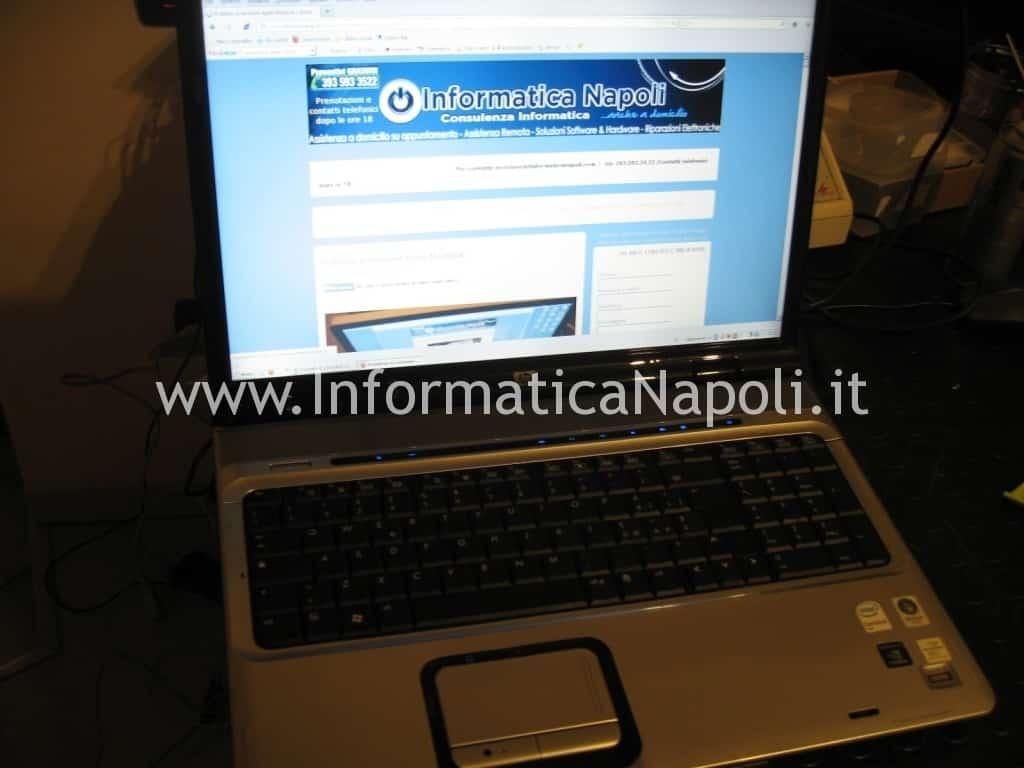 hp pavilion DV9000 DV9500 DV9695el funzionante riparato
