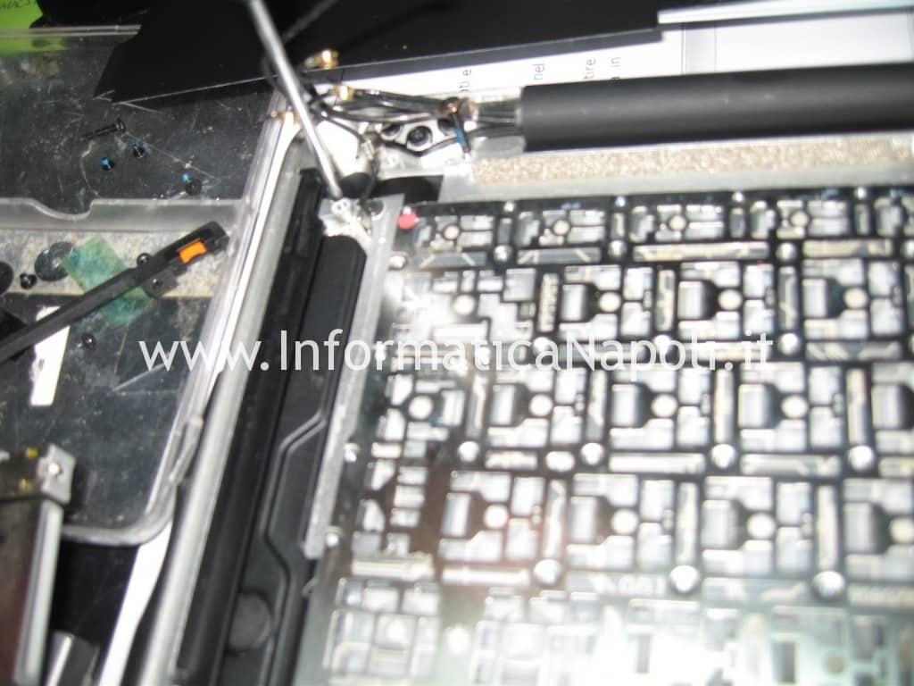 liquido nella tastiera macbook pro a1278