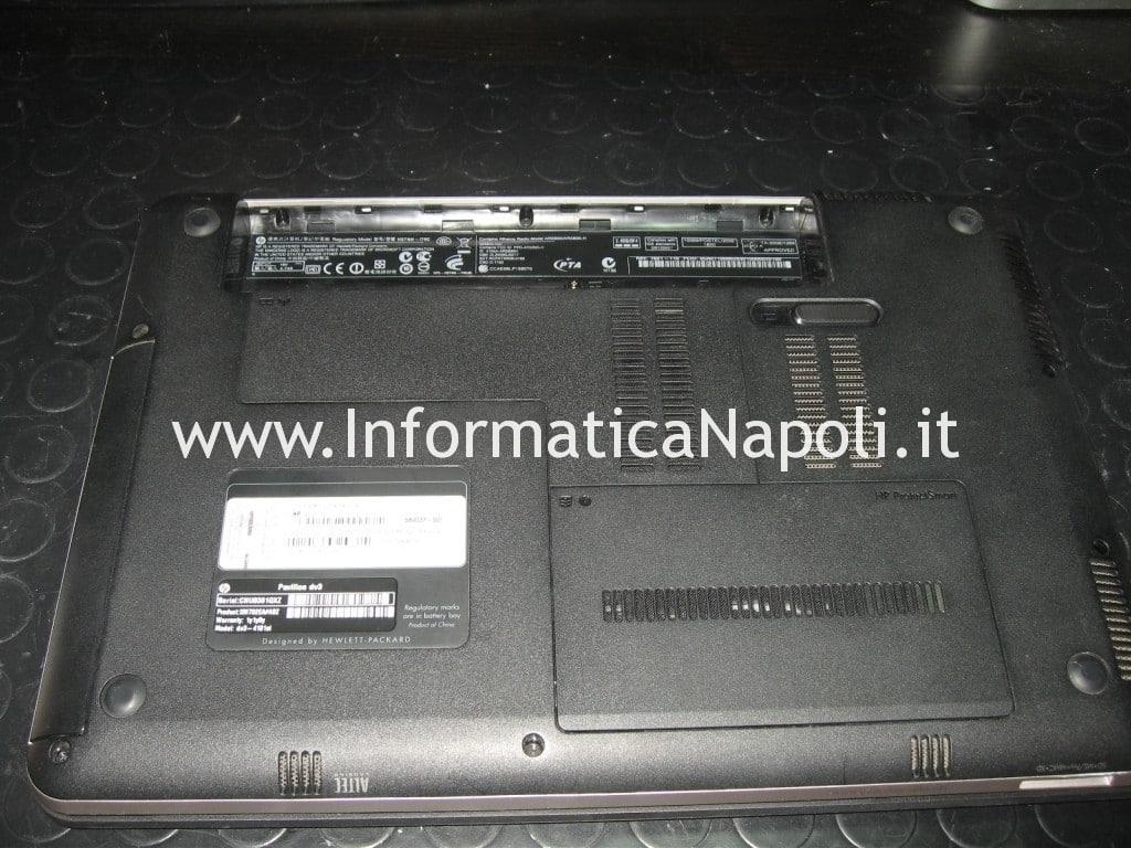 pulizia hp pavilion dv3 termal shutdown occurred