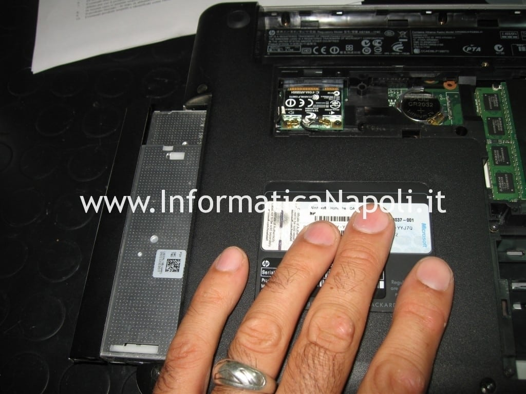 dvd hp pavilion dv3 problemi video
