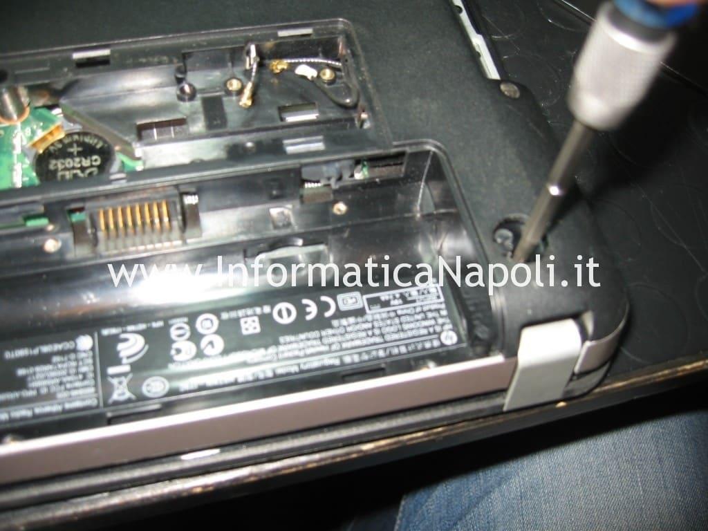 riparare hp pavilion dv3 schermo nero