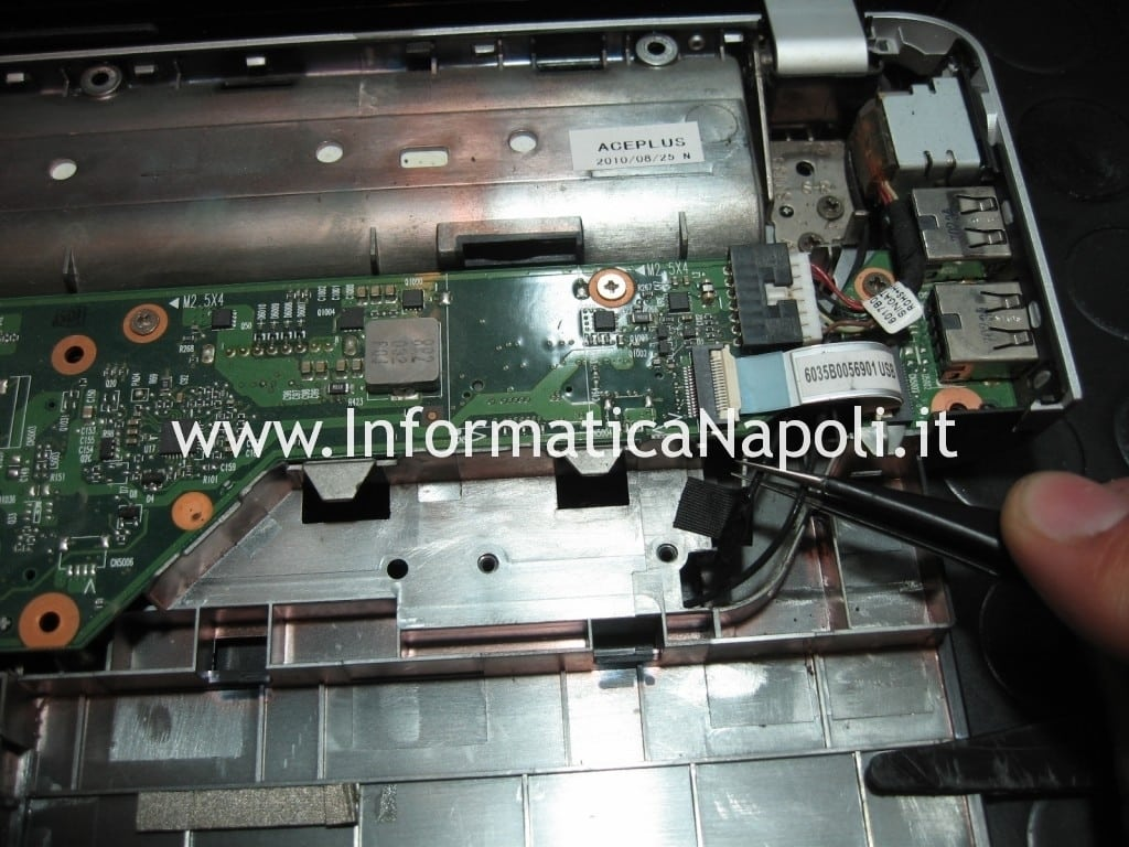 pulire scheda madre hp pavilion dv3 termal shutdown occurred