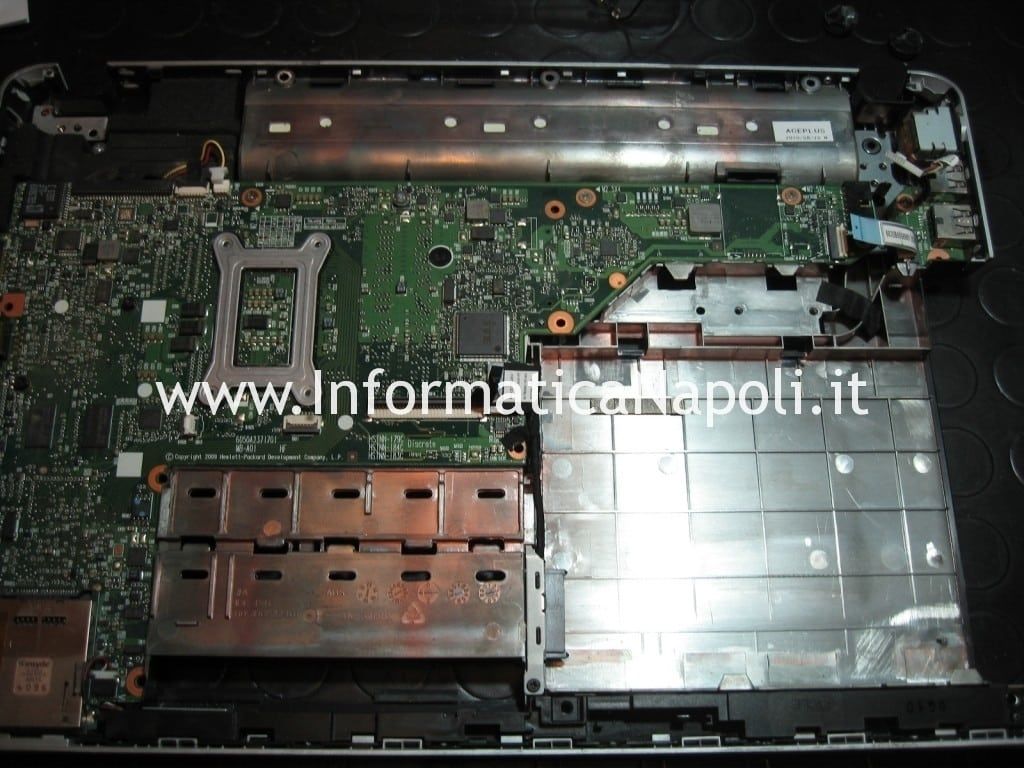 assistenza hp pavilion dv3 termal shutdown occurred