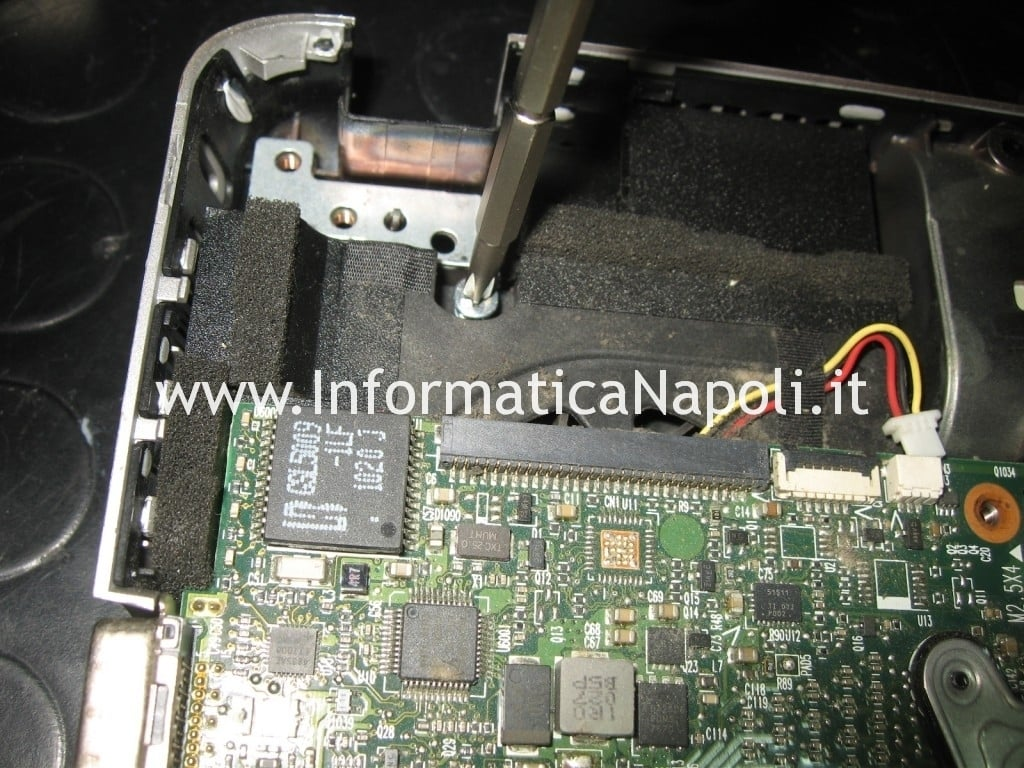 riparazione hp pavilion dv3 termal shutdown occurred
