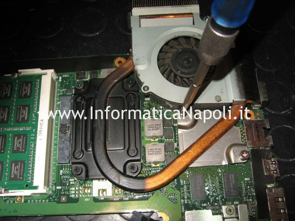 dissipatore hp pavilion dv3 termal shutdown occurred