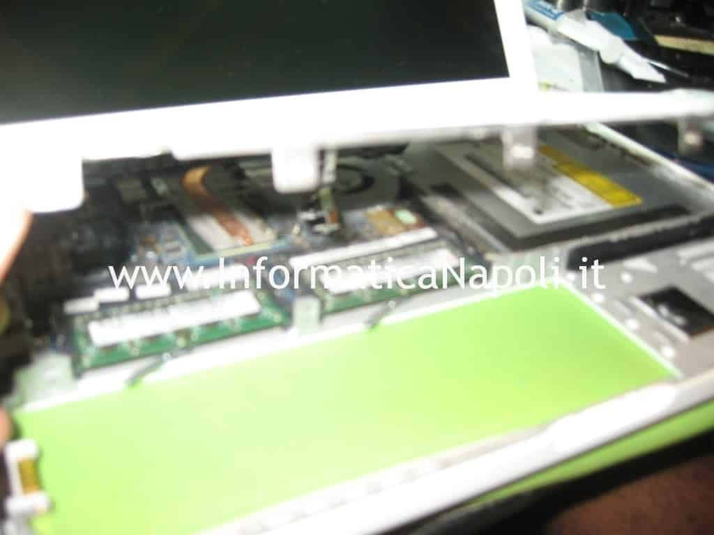 problema accensione apple macbook 13 a1181 a1185