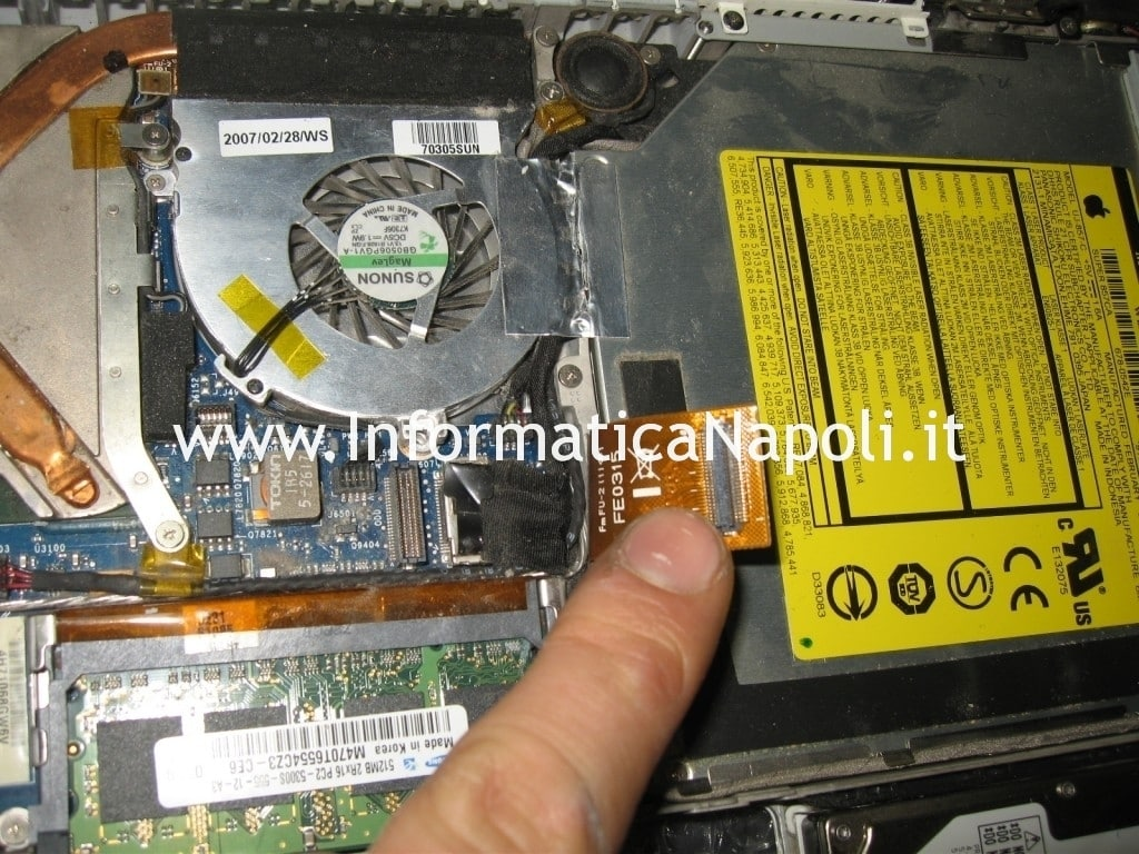 flat macbook 13 a1181 a1185