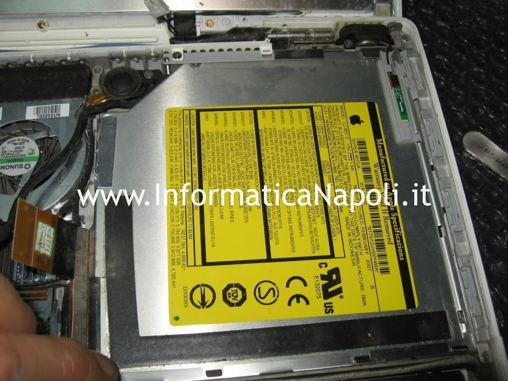 dvd macbook 13 a1181 a1185
