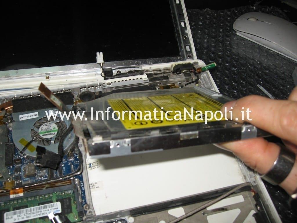 riparazione dvd macbook 13 a1181 a1185
