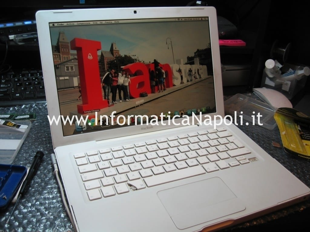 apple macbook 13 a1181 a1185 funzionante