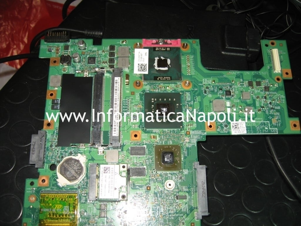 reballing cpu chipset gpu dell inspiron 1545 PP41L