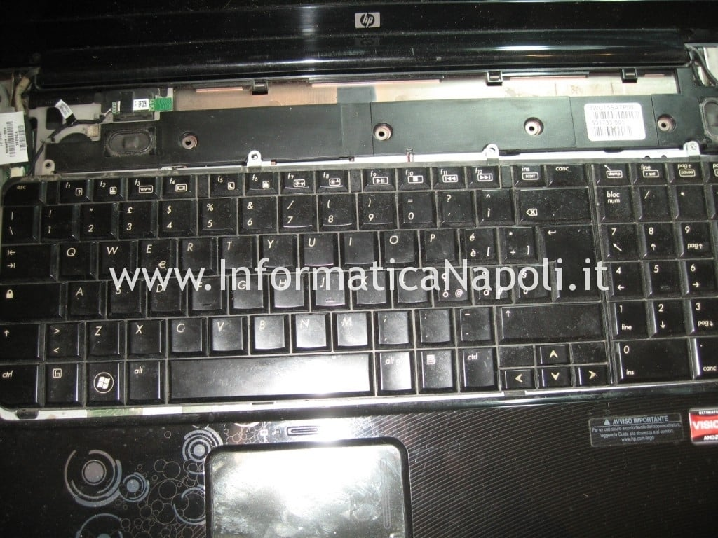 tastiera hp pavilion DV7 DV7-3004el