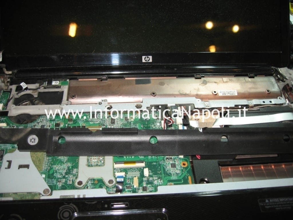 riparare scheda madre hp pavilion DV7 DV7-3004