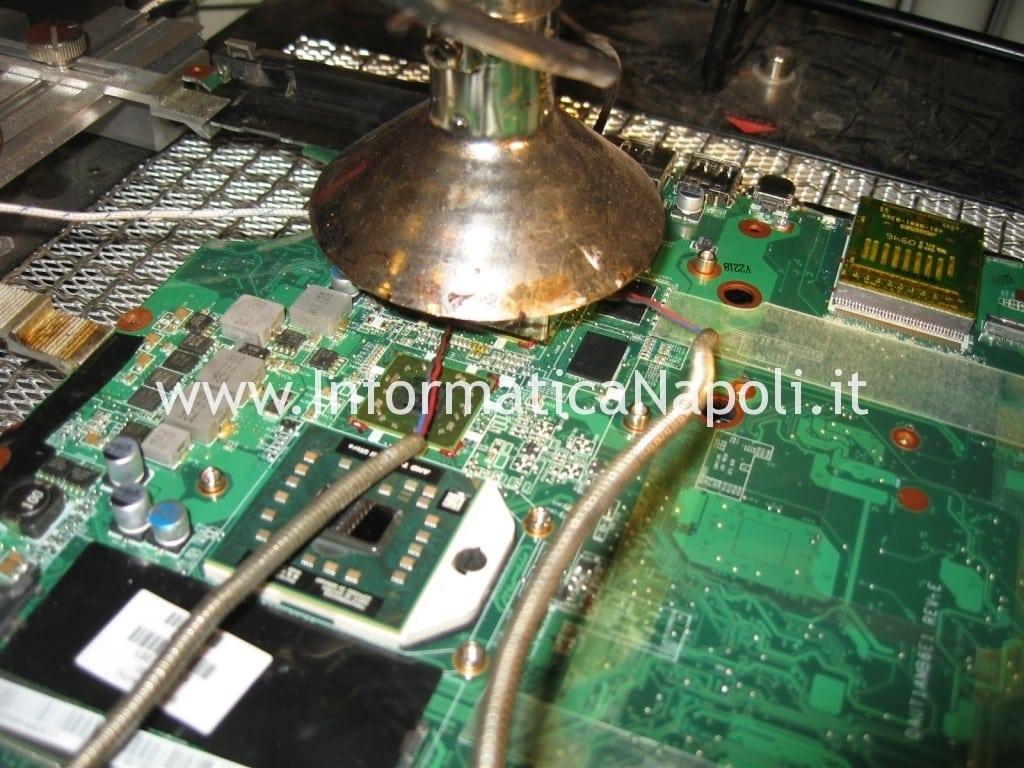 refflow rework chiset bga hp pavilion DV7 DV7-3004