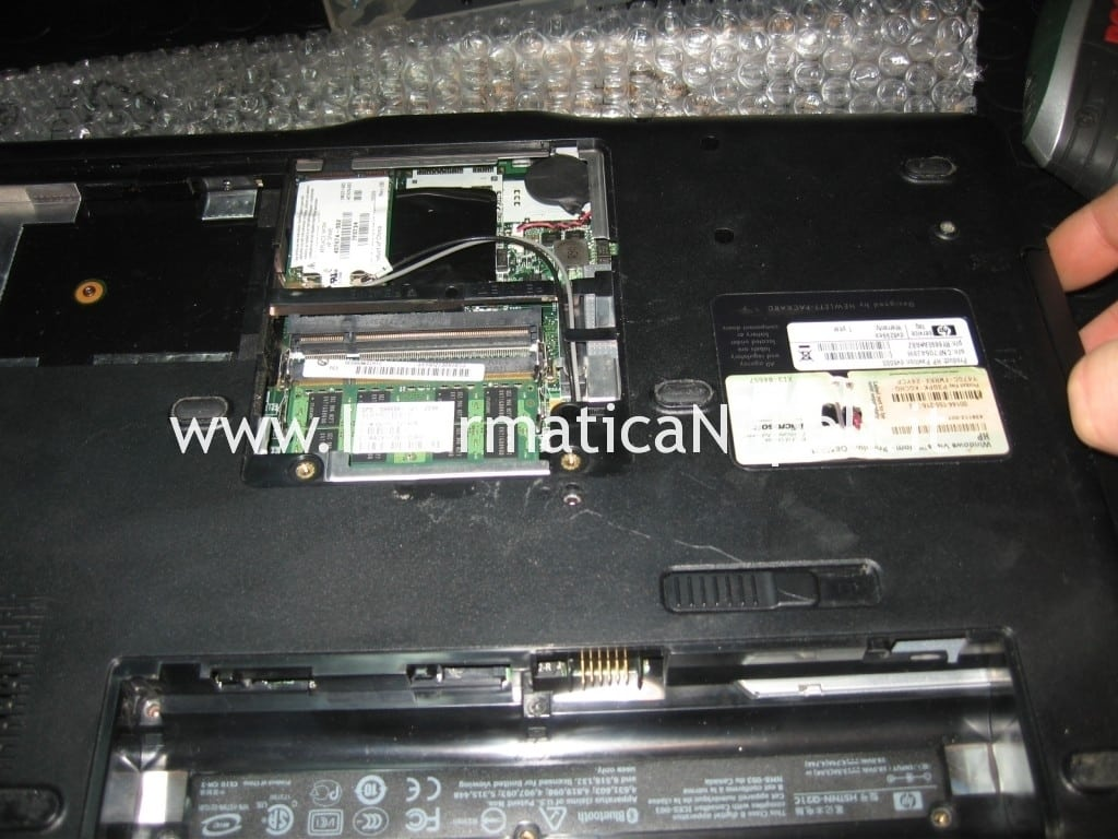 problemi accensione HP Pavilion DV6000 DV6299 limited edition