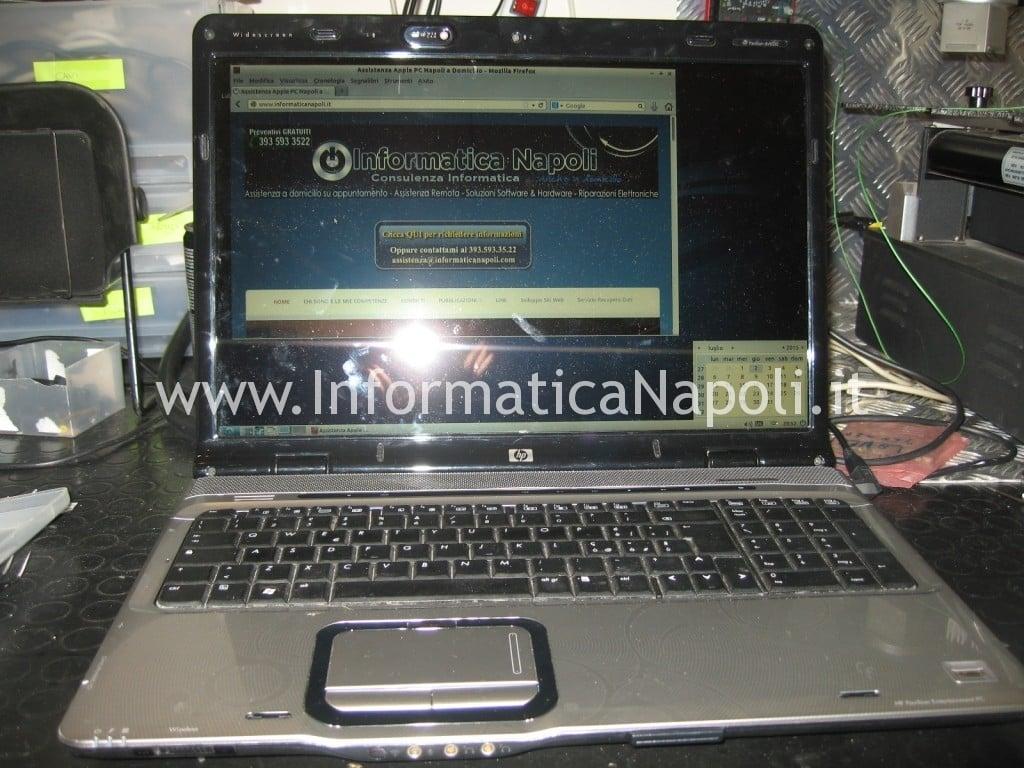 assistenza HP pavilion DV9000 DV9500 DV9695el