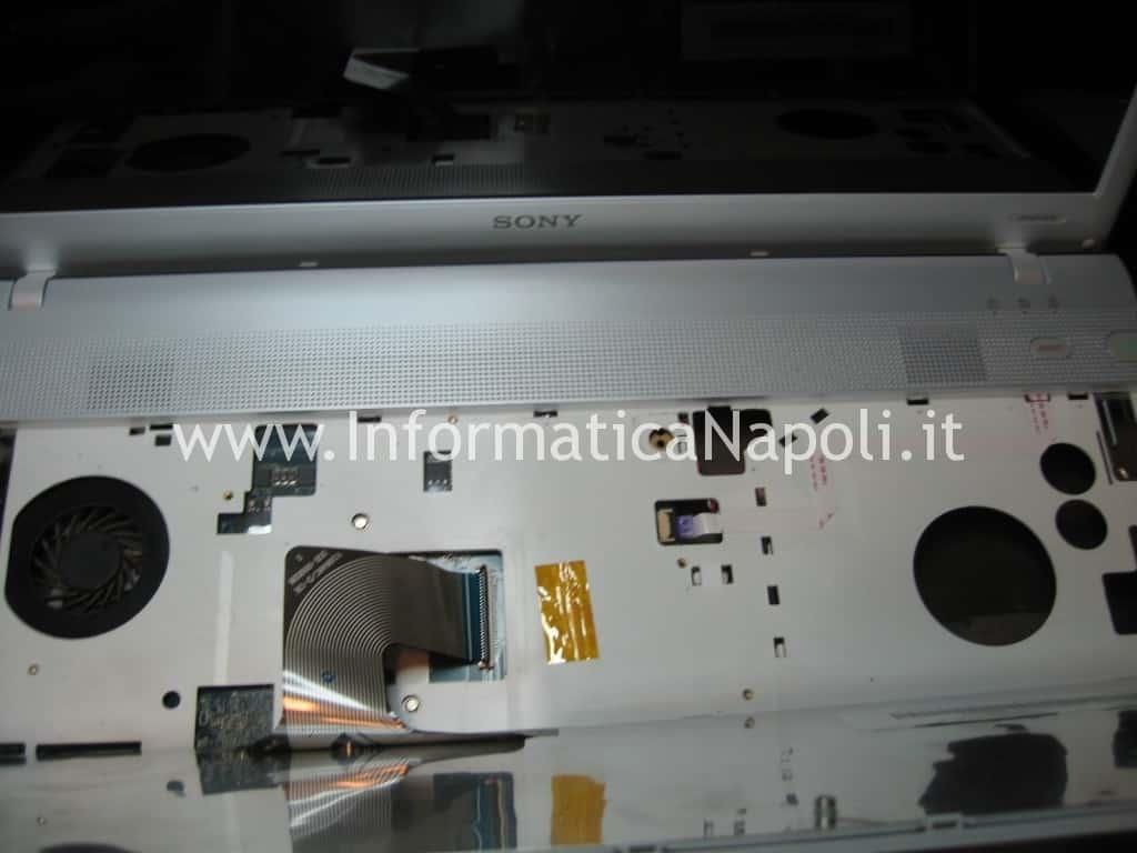 problemi di accensione SONY VPCEF4E1E PCG-71511M
