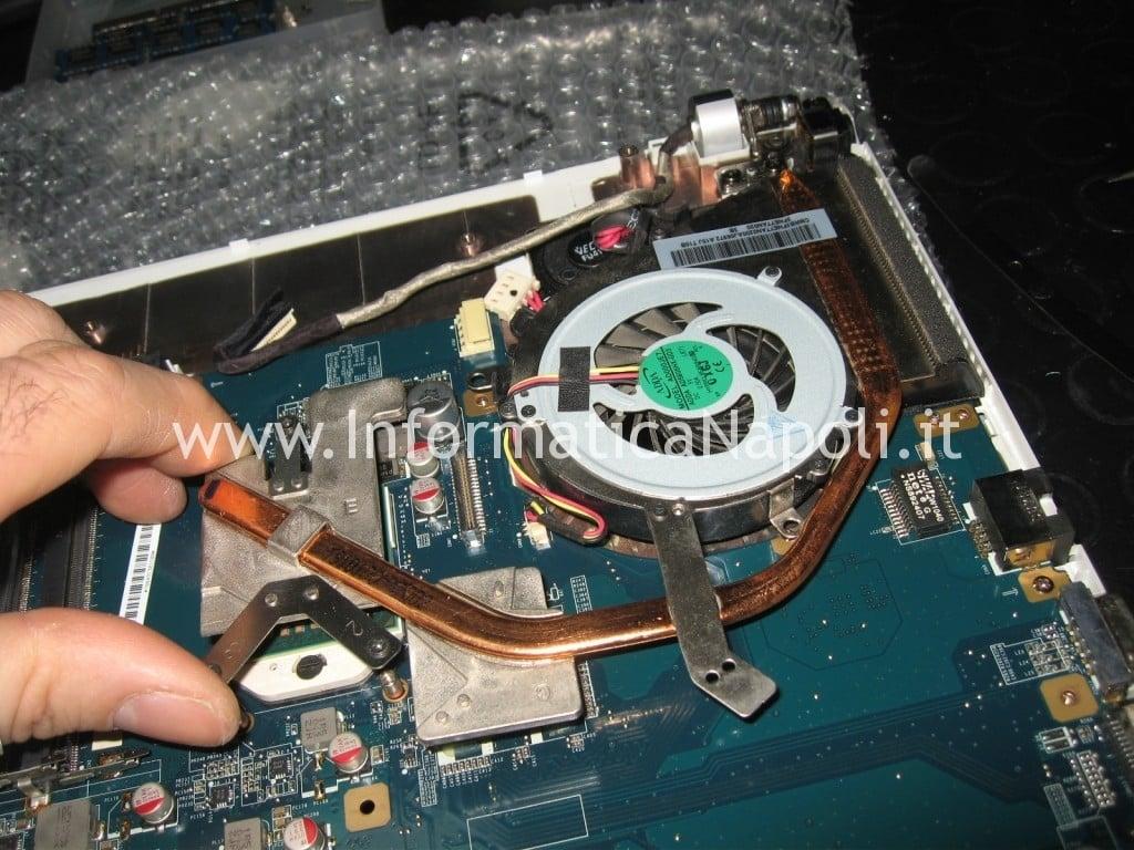 riparare scheda madre SONY VPCEF4E1E PCG-71511M