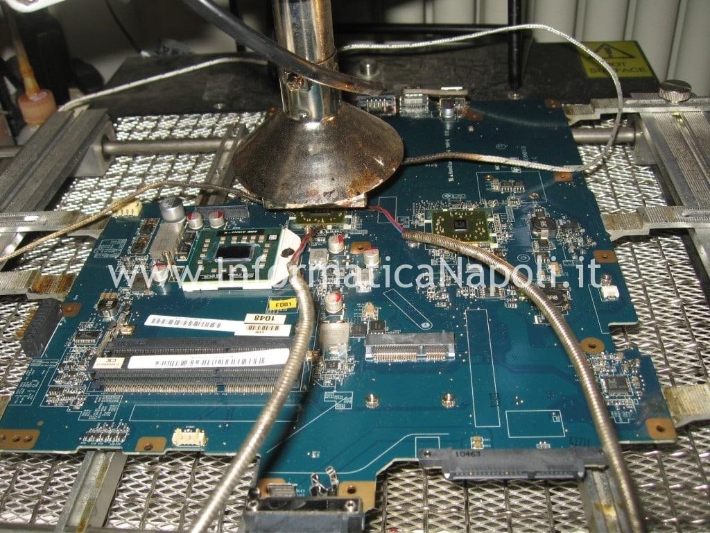 reballing SONY VPCEF4E1E PCG-71511M