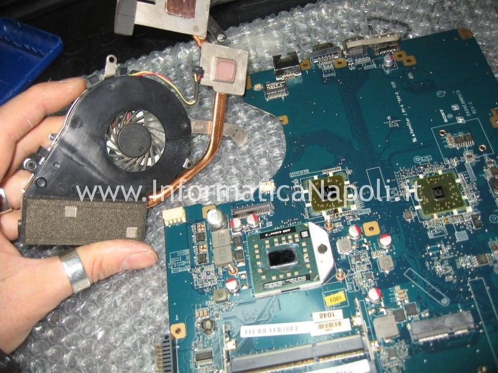 pulire ventola dissipatore SONY VPCEF4E1E PCG-71511M