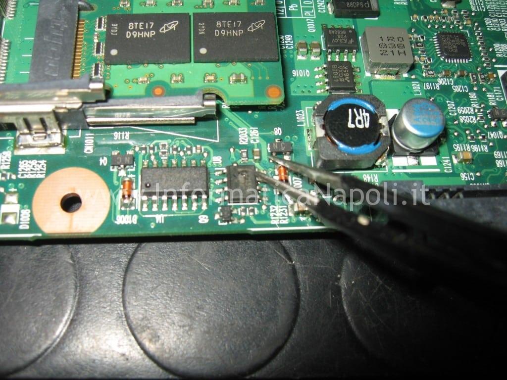problema HP 6730s non si accende