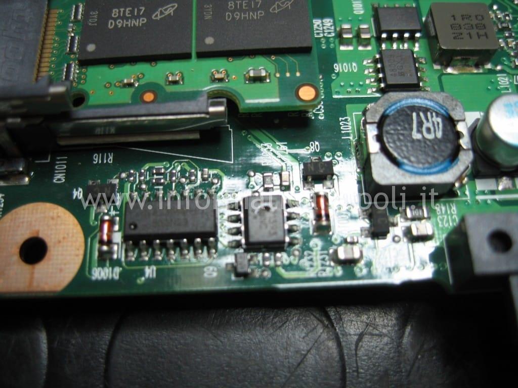 problema HP 6730s non vede alimentatore