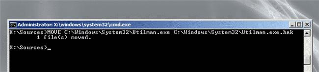 Windows Server 2008 R2 accesso administrator