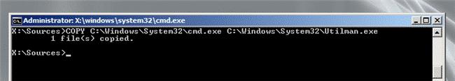 Windows Server 2008 R2 cambio password