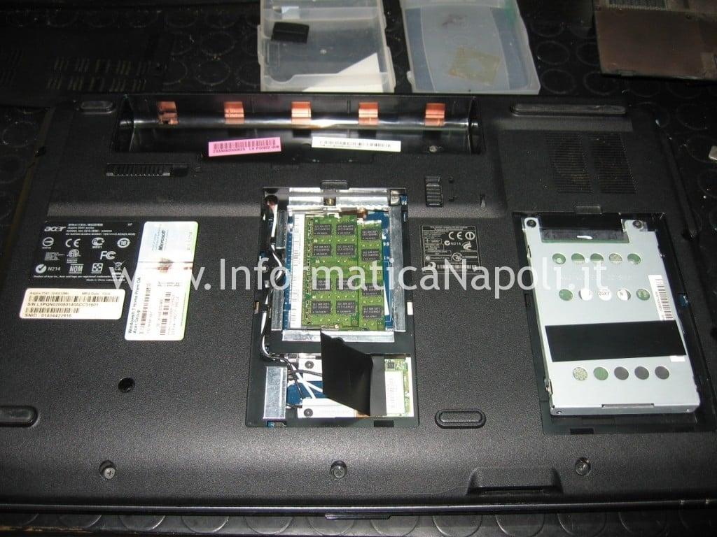 problemi Acer Aspire 5541 kawg0 non si avvia