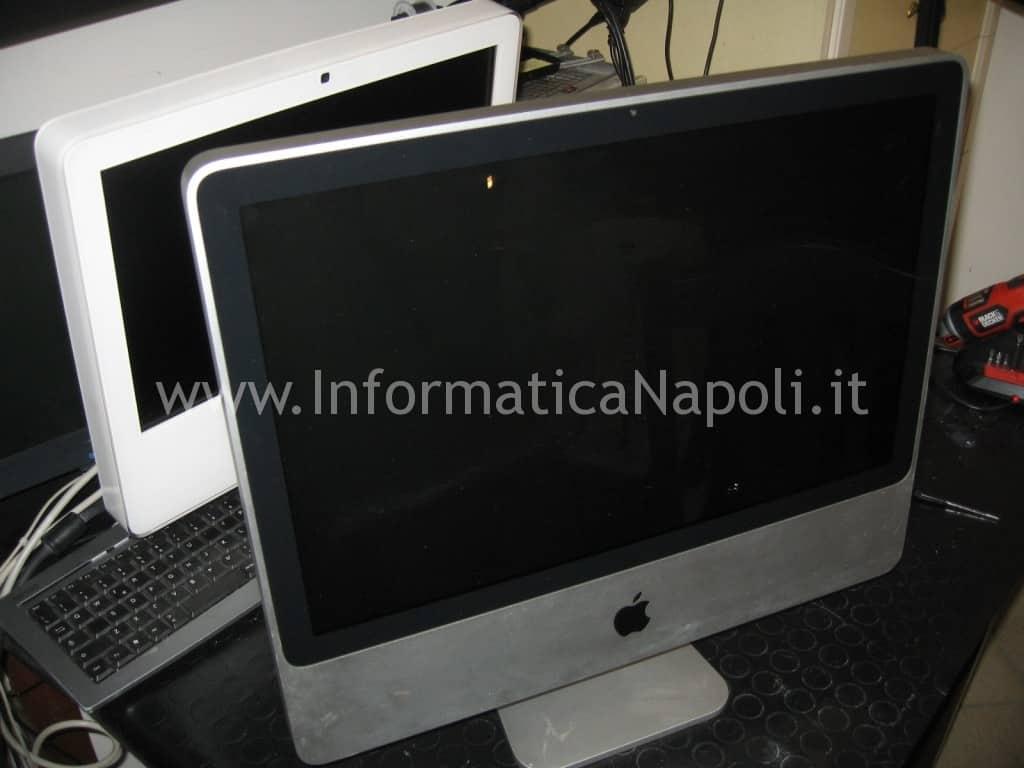 """apple iMac A1224 20"""" schermo nero"""