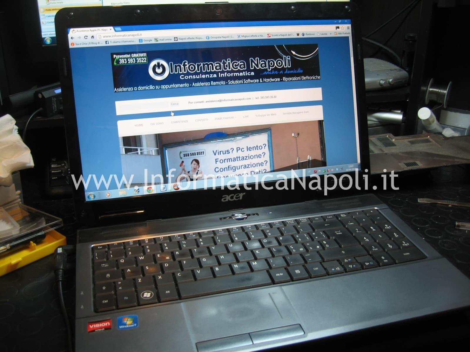 Acer Aspire 5541 kawg0 funzionante riparato